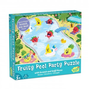 """Dėlionė """"Scratch and Sniff: Fruity Pool Party"""""""